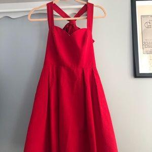 LAUREN JAMES red dress